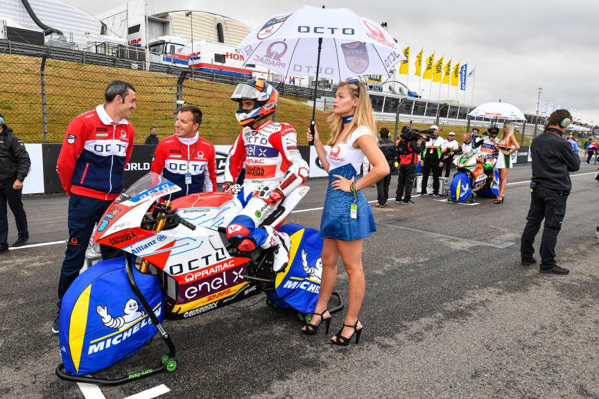 Alex De Angelis, Octo Pramac MotoE, HJC Helmets Motorrad Grand Prix Deutschland
