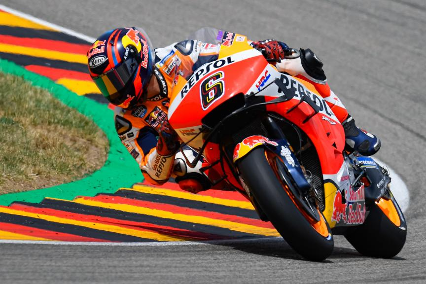 Stefan Bradl, Repsol Honda Team, HJC Helmets Motorrad Grand Prix Deutschland