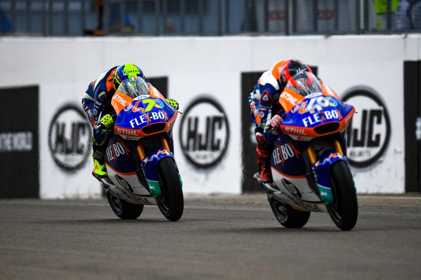 Lorenzo Baldassarri, Augusto Fernandez, Flex-Box HP40, HJC Helmets Motorrad Grand Prix Deutschland