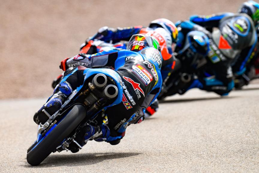 Sergio Garcia, Estrella Galicia 0,0, HJC Helmets Motorrad Grand Prix Deutschland
