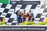 Marc Marquez, Maverick Viñales, Cal Crutchlow, HJC Helmets Motorrad Grand Prix Deutschland