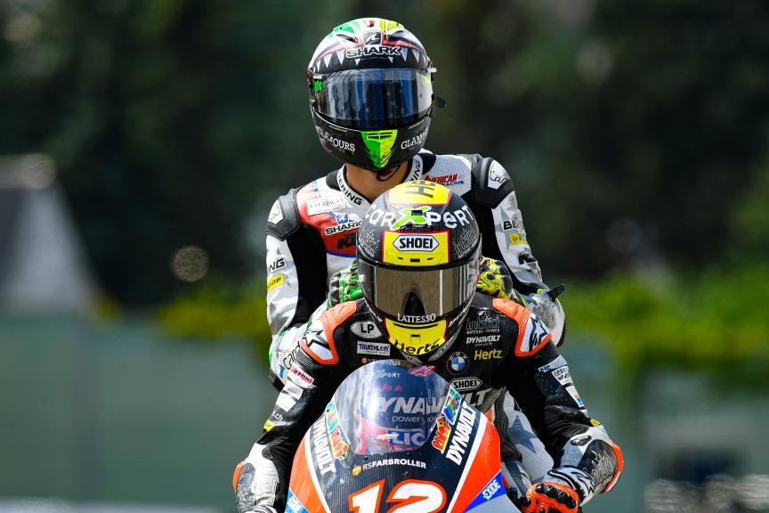 Tom Luthi, Dynavolt Intact GP, HJC Helmets Motorrad Grand Prix Deutschland