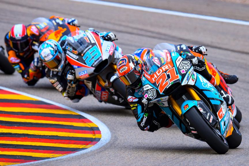 Fabio Di Giannantonio, MB Conveyors Speed Up, HJC Helmets Motorrad Grand Prix Deutschland