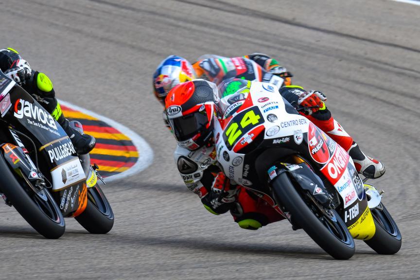 Tatsuki Suzuki, SIC58 Squadra Corse, HJC Helmets Motorrad Grand Prix Deutschland