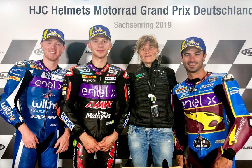 MotoE, HJC Helmets Motorrad Grand Prix Deutschland