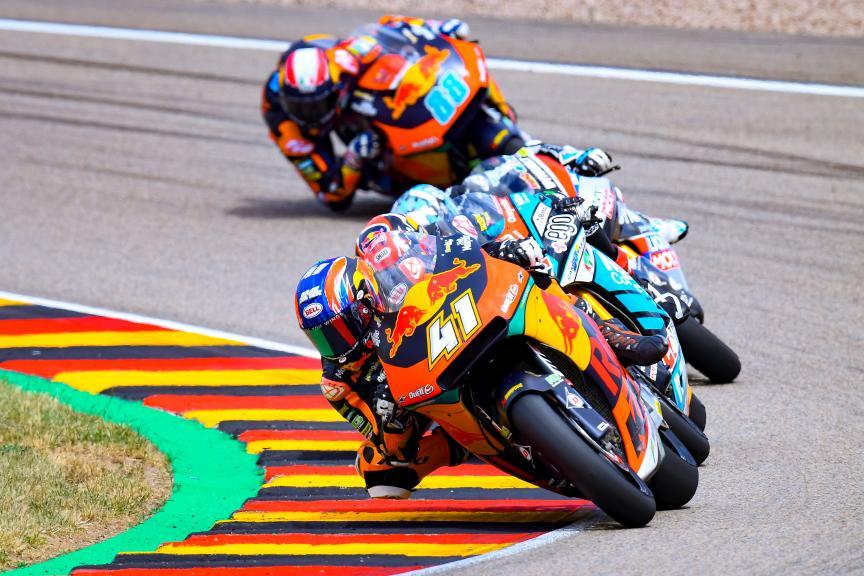 Brad Binder, Red Bull KTM Ajo, HJC Helmets Motorrad Grand Prix Deutschland