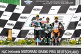 Lorenzo Dalla Porta, Marcos Ramirez, Aron Canet, HJC Helmets Motorrad Grand Prix Deutschland