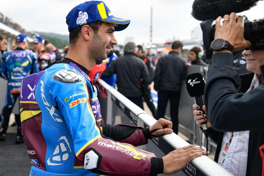 Mike Di Meglio, EG 0,0 Marc VDS, HJC Helmets Motorrad Grand Prix Deutschland