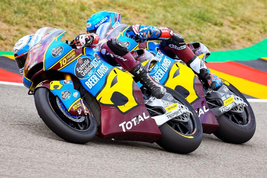 Alex Marquez, Xavi Vierge, EG 0,0 Marc Vds, HJC Helmets Motorrad Grand Prix Deutschland