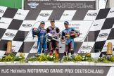 Niki Tuuli, Bradley Smith, Mike Di Meglio, HJC Helmets Motorrad Grand Prix Deutschland