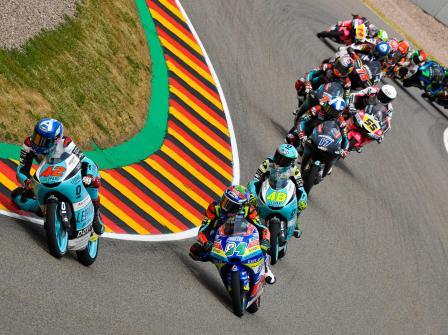 Moto3, Race, HJC Helmets Motorrad Grand Prix Deutschland