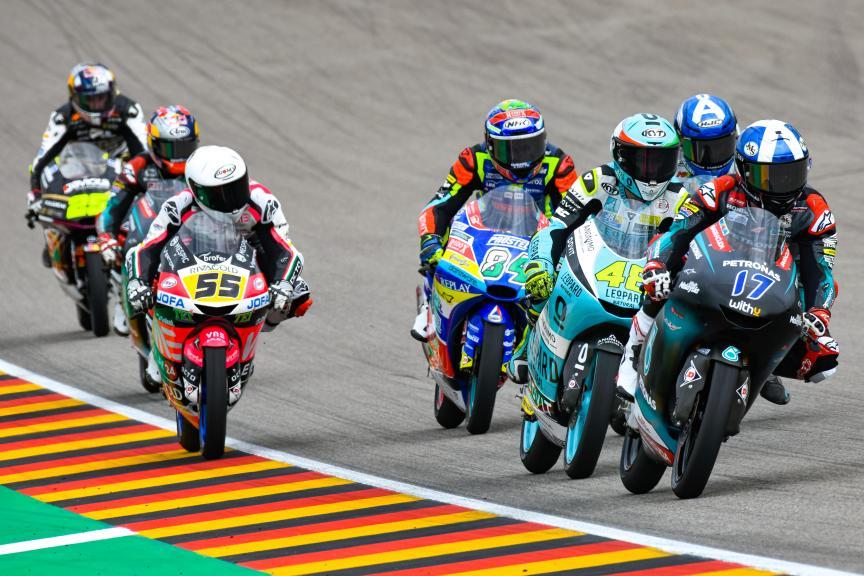 Moto3, HJC Helmets Motorrad Grand Prix Deutschland