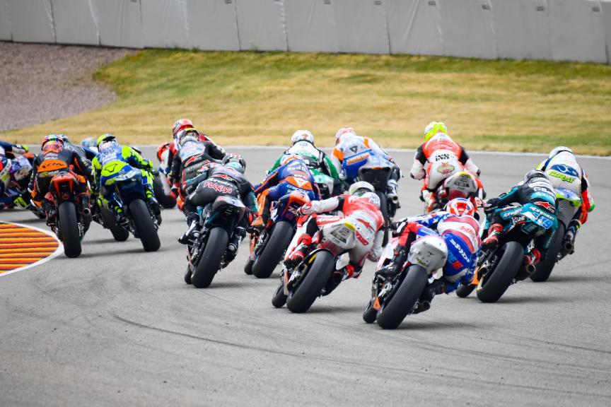 Moto2, HJC Helmets Motorrad Grand Prix Deutschland