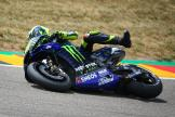 Crash Valentino Rossi, Monster Energy Yamaha MotoGP, HJC Helmets Motorrad Grand Prix Deutschland © Graham Holt