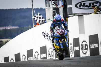 Marquez back in charge of Moto2™ after Sachsenring victory
