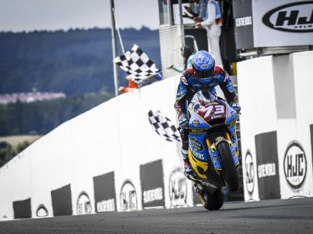 Moto2, Race, HJC Helmets Motorrad Grand Prix Deutschland