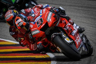 Friendly fire as Ducati limit the damage