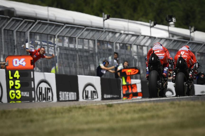 Ducati Team, HJC Helmets Motorrad Grand Prix Deutschland