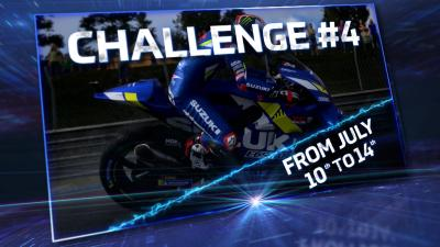 Fit your wet tyres! Challenge #4 is ready to go!