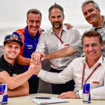 Binder bestätigte, dass er 2020 in der MotoGP™ fahren wird