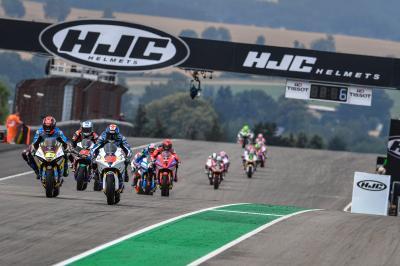 Il meglio dell'azione della MotoE™ al German Grand Prix