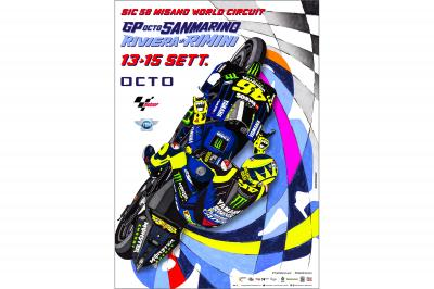 The official poster for the San Marino GP is launched