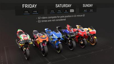 What does a typical Grand Prix weekend look like?