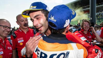 The heartwarming first victory of Danilo Petrucci