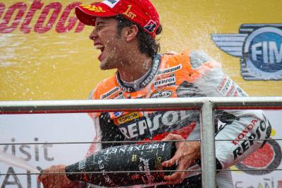 Tal día como hoy: El primer triunfo de 'Dovi' en MotoGP™
