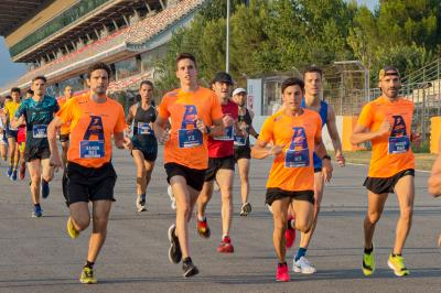 Los Márquez dejan su huella en la quinta Allianz Night Run