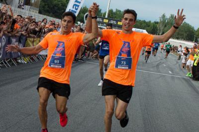 Les Márquez foulent Montmeló pour l'Allianz Night Run !