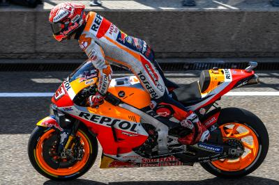 "Marquez ""taking nothing for granted"" in Brno"