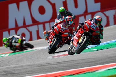El Ducati Team se conjura para brillar en su regreso