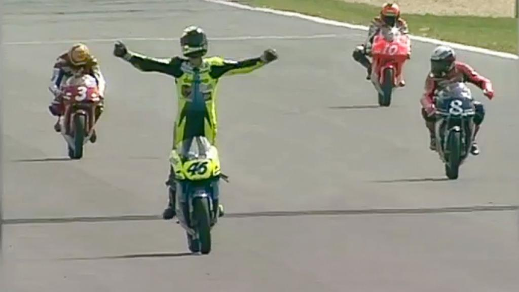Brno '96 - Rossi First victory
