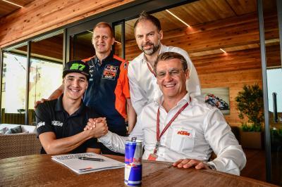 Lecuona firma por Red Bull KTM Ajo hasta 2021