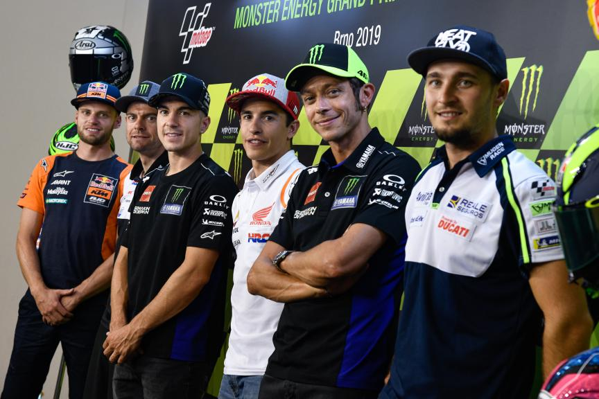 Press-Conference, Monster Energy Grand Prix České republiky