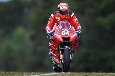 Ducati y Yamaha asedian a Márquez desde el inicio