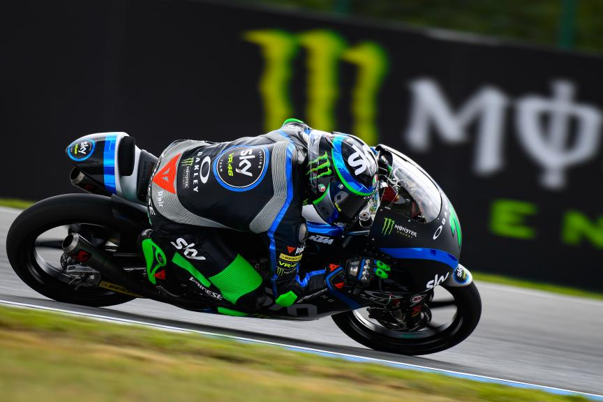 Dennis Foggia, Sky Racing Team VR46, Monster Energy Grand Prix České republiky