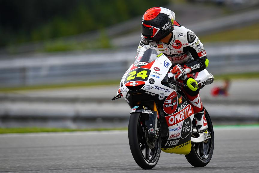Tatsuki Suzuki, SIC58 Squadra Corse, Monster Energy Grand Prix České republiky