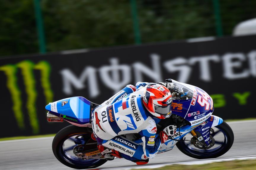 Riccardo Rossi, Kőmmerling Gresini Moto3, Monster Energy Grand Prix České republiky