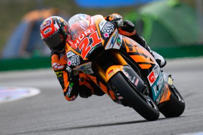 Di Giannantonio delivers as Day 1 in Moto2™ concludes