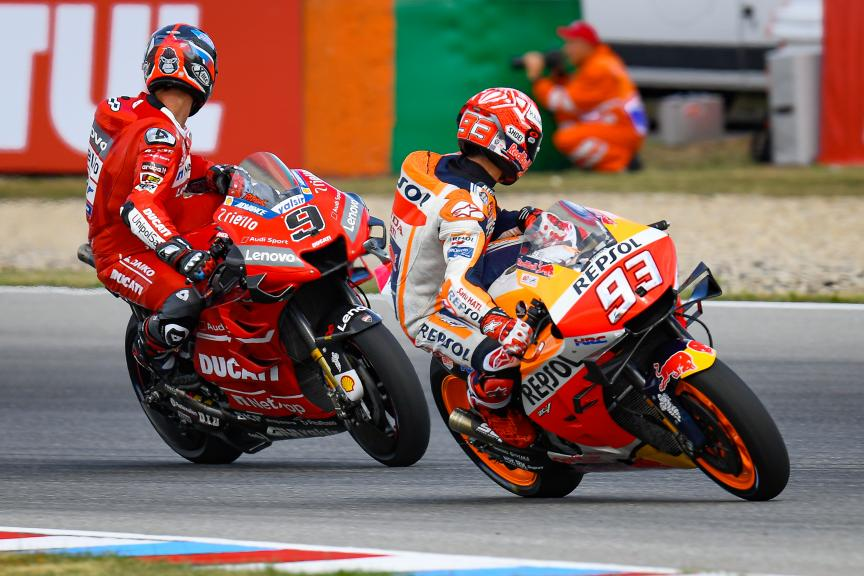 Marc Marquez, Danilo Petrucci, Monster Energy Grand Prix České republiky