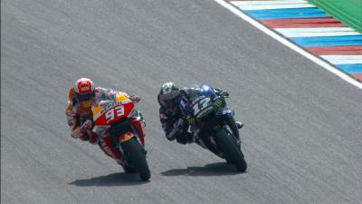 Viñales and Marquez rehearse race day with battlein FP1