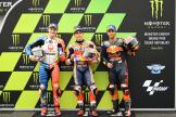 Marc Marquez, Jack Miller, Johann Zarco, Monster Energy Grand Prix České republiky