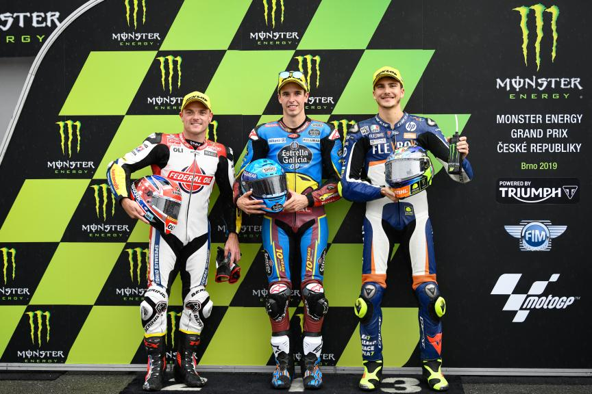 Alex Marquez, Sam Lowes, Lorenzo Baldassarri, Monster Energy Grand Prix České republiky