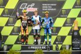 Alex Marquez, Fabio Di Giannantonio, Enea Bastianini, Monster Energy Grand Prix České republiky