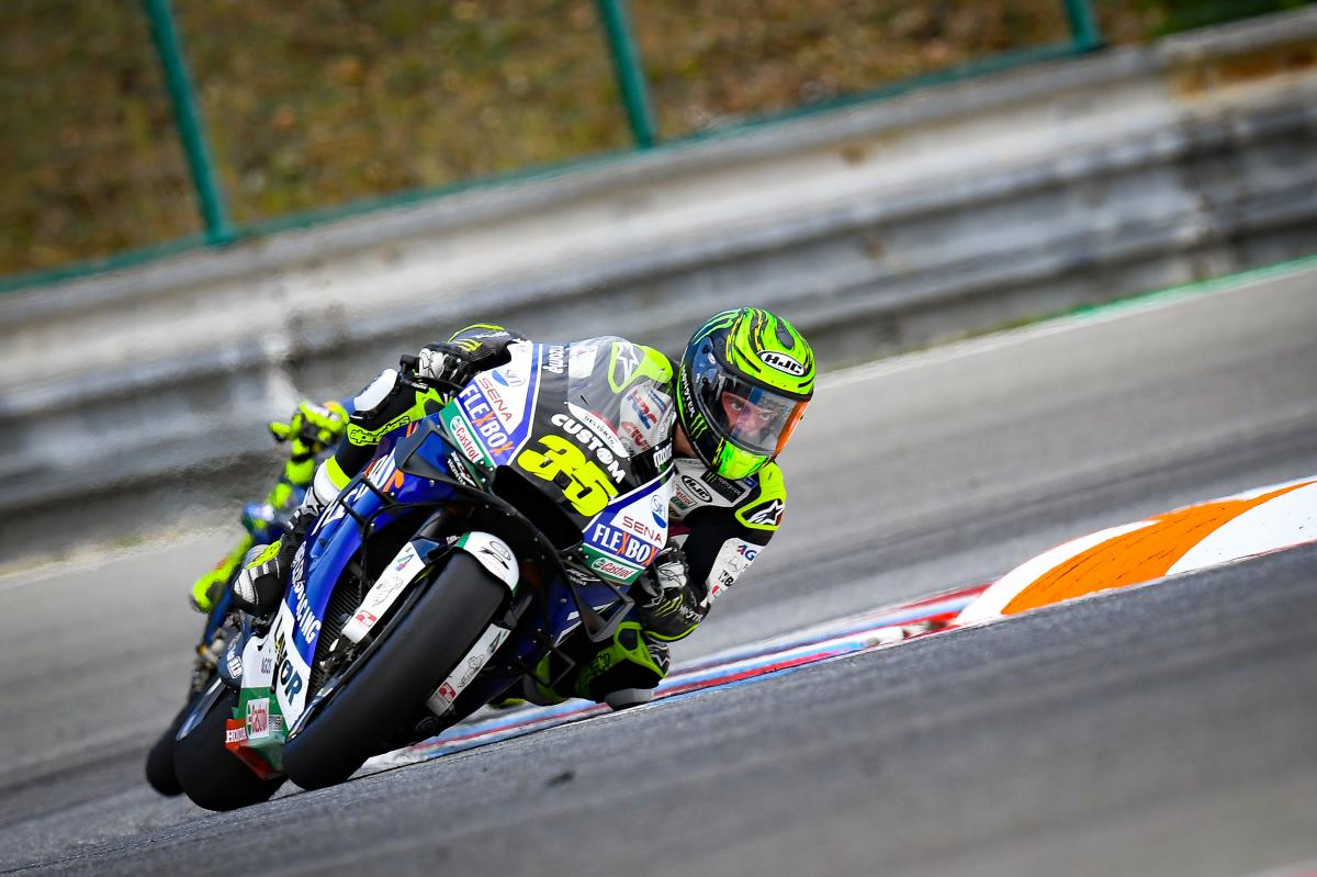 Comeback Cal: Crutchlow makes the top five from 11th