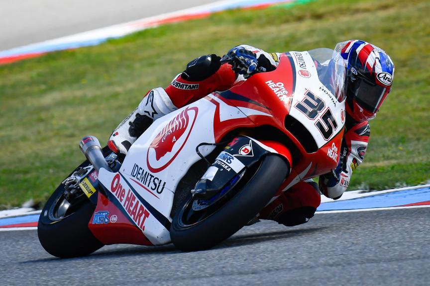 Somkiat Chantra, Idemitsu Honda Team Asia, Monster Energy Grand Prix České republiky