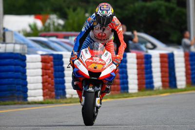 Miller heureux de son « vrai podium » à Brno