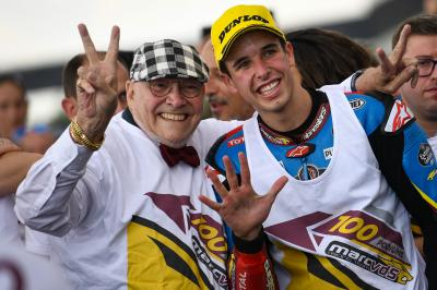 Resilient Marquez holds off opposition for Moto2™ Brno win